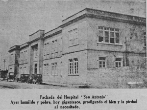 fachada del hospital san antonio