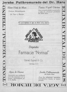 anuncio de 1924