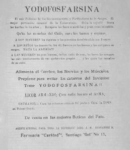 anuncio en la revista quisqueya 1924