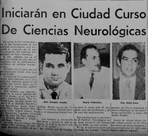 curso de neuro ciencias en 1973