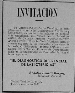 visita del dr tumen 1951
