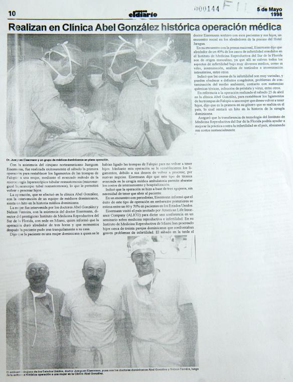 cirugia cayo 1998